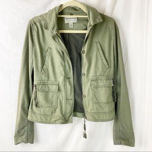 ANTHROPOLOGIE Marrakech army green jacket